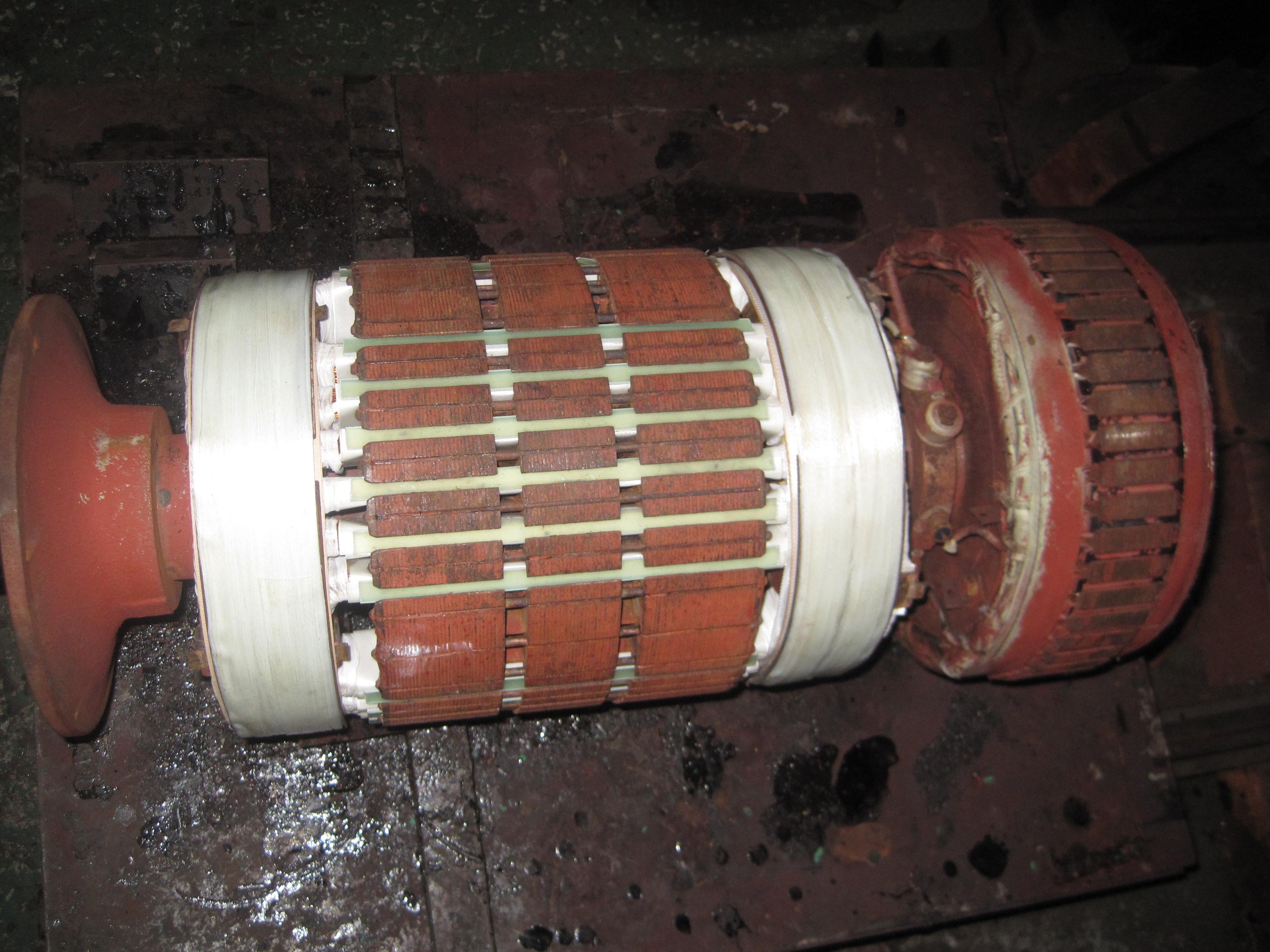 船舶用発電機(ローター)