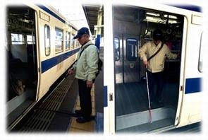 電車の乗降